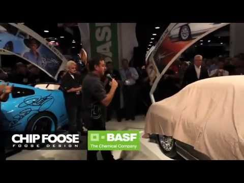 Chip Foose Unveils BASF Mercedes Gullwing at SEMA