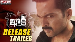 Khakee Movie Release Trailer || Khakee Releasing on Nov 17 || Karthi, Rakul Preet || Ghibran - ADITYAMUSIC