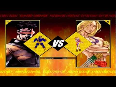 Capcom vs. SNK 2 - Remake 2010 (M.U.G.E.N)