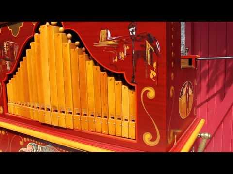 Détails des orgues ODIN - Orgues de barbarie Odin