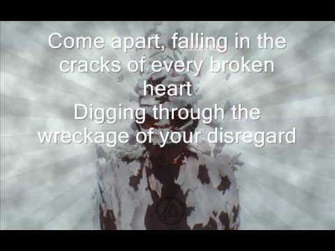 Linkin Park - In My Remains HQ Lyrics on screen