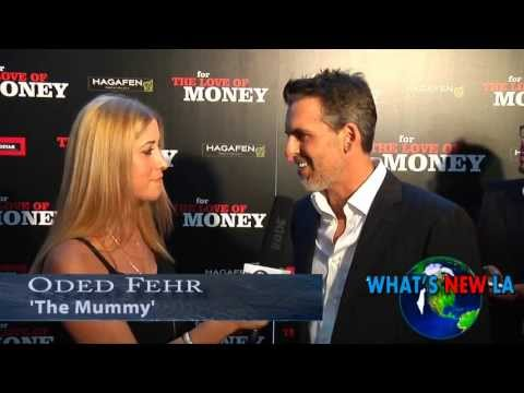 Oded Fehr Interview in Hebrew 2012