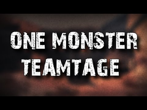 one monster teamtage