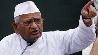 Anna Hazare threatens protest against government - TIMESNOWONLINE