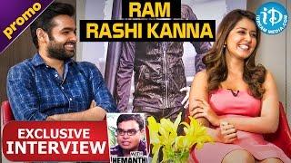 Shivam Movie Ram & Rashi Khanna Exclusive Interview - Promo    Talking Movies with iDream - IDREAMMOVIES