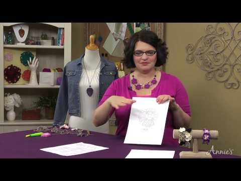 Learn How to Crochet Jewelry - an Annie's Video Class