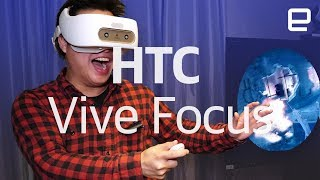 HTC Vive Focus hands-on - ENGADGET
