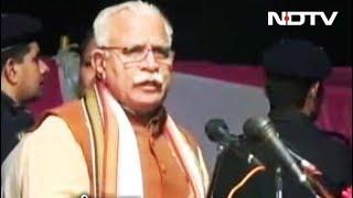 हरियाणा के CM का अजीब बयान - NDTVINDIA