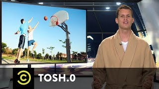 Tosh.0 - 30 for 30.0 - Nerf Hoops - Uncensored - COMEDYCENTRAL