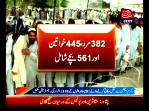 Kurram Agency, 201 families registration completed -- Breaking News