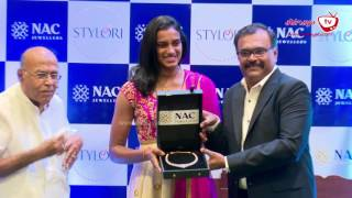 DIAMOND NECKLACES TO PV SINDHU GIFTED NAC JEWELLERS