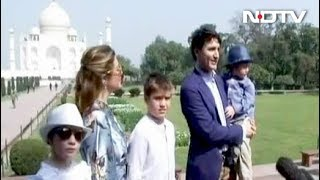 Justin Trudeau Starts India Visit With A Trip To Taj Mahal - NDTV