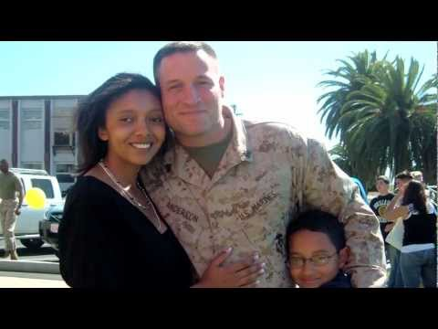 Welcome Home, Michael: a Dad, a Husband, and a Marine -- Happy Holidays