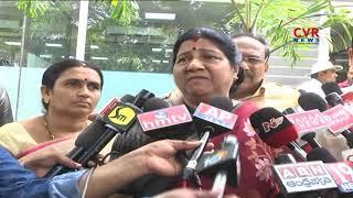Nannapaneni Rajakumari Responds on 10 yrs Minor Girl Incident in Guntur | CVR News - CVRNEWSOFFICIAL