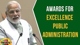 PM Modi Confers Awards For Excellence Public Administration | Mango News - MANGONEWS