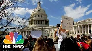 'Enough is Enough!' Hundreds Of Students Call For Gun Control At Capitol Hill | NBC News - NBCNEWS