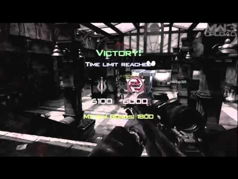 MW3 Quickscoping with .50cal / Final Killcam