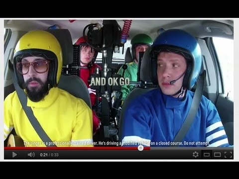 OK Go & Chevy Sonic - Needing/Getting Music Video Trailer