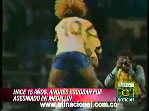 ANDRES ESCOBAR / JULIO 2 2009 / SU MUERTE / 15 AÑOS RECORDANDOLO 1/3