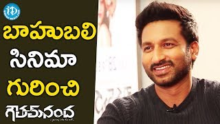 Gopichand About Baahubali Movie || #GouthamNanda || Talking Movies With iDream - IDREAMMOVIES