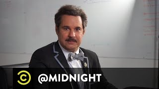 Masterclass - How to Tie a Bow Tie with Paul F. Tompkins - @midnight with Chris Hardwick - COMEDYCENTRAL