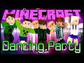 Dancing Party - Music Blocks ft. Authentic, Baixa, Spok e Moon (Minecraft Mini-Games)