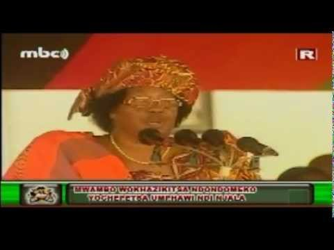 Part 2 of 2 : President Joyce Banda's Speech at Mangochi-Lipinga, June 2012 (Chichewa)