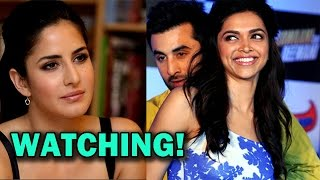 Katrina Kaif keeping a check on Ranbir Kapoor and Deepika Padukone? | Bollywood News