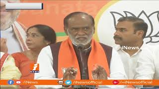 KCR Fail To Give Clarity on Early Elections To Telangana People | BJP Laxman | iNews - INEWS