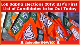 BJP Election Committee Meet: BJP's First List of Candidates to be Out; Lok Sabha Elections 2019 - NEWSXLIVE
