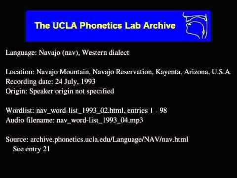 Navajo audio: nav_word-list_1993_04