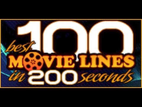100 movie lines in 200 seconds