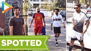 Ranbir Kapoor, Ishaan Khatter, Abhimanyu Dassani & others snapped playing football  Part 1 - HUNGAMA