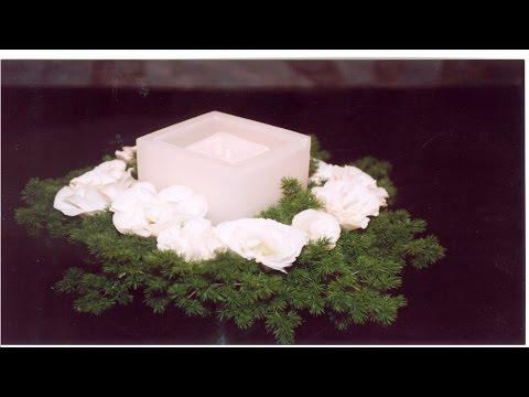 Curso Treinamento de Florista - Arranjo de Mesa - Cursos CPT