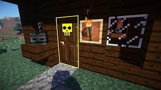 НЕ ОТКРЫВАЙ ДВЕРЬ - УБЬЕТ! Ловушка в Minecraft!
