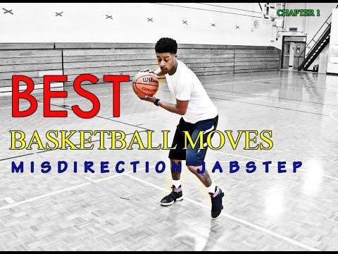 Best Basketball Moves - Misdirection Jabstep DRIBBLE