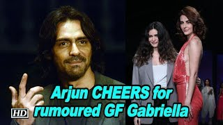 Arjun CHEERS for rumoured GF Gabriella at Pernia's Runway Spring Summer'19 - IANSLIVE