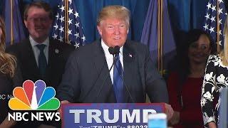 Donald Trump Celebrates Victory In New Hampshire | NBC News - NBCNEWS