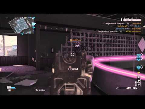 [Ps4] Cod Ghost: 2:08 Kem Strike with Gold Honeybadger! (1080p)