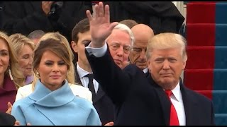 Trump Arrives at Presidential Inauguration - ABCNEWS