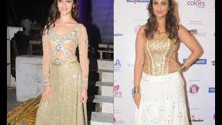 Alia, Parineeti at International Indian Achievers' Awards - IANSINDIA