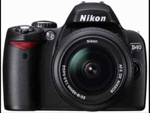 Nikon SLR camera with Nikkor lenses ( ...