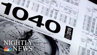 What To Know For Next Tax Season If You Don't Want To Owe The IRS | NBC Nightly News - NBCNEWS
