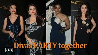 Divas Aishwrya, Sushmita, Madhuri, Kajol PARTY together - BOLLYWOODCOUNTRY