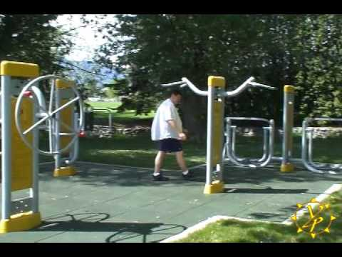 Outdoor Fitness Equipment Video