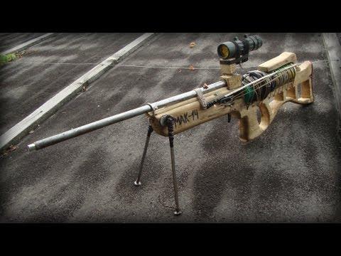 Самодельное пневматическая винтовка