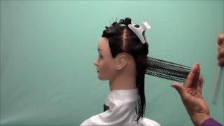 Corte cabello 45 grados paso paso