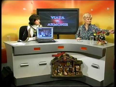 Viata in Armonie cu NICULINA GHEORGHITA.PSIHO-TERAPEUT LA 1 TV NEAMT(10 decembrie 2010)