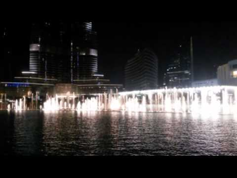 Sherzod Jamolov Dubai Water, Fire & Light Show   Dubai Fountain  Dubai Mall