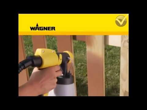 Pistola de Pintura-Pulverizadora Elétrica 350W - W670 - Wagner
